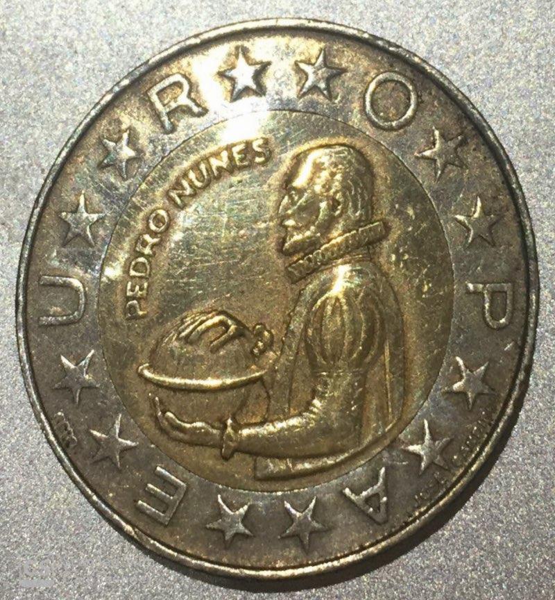"""PORTUGAL – 100 Escudos """"Pedro Nunes"""" 1989-2001 UNC Rare (1450)"""