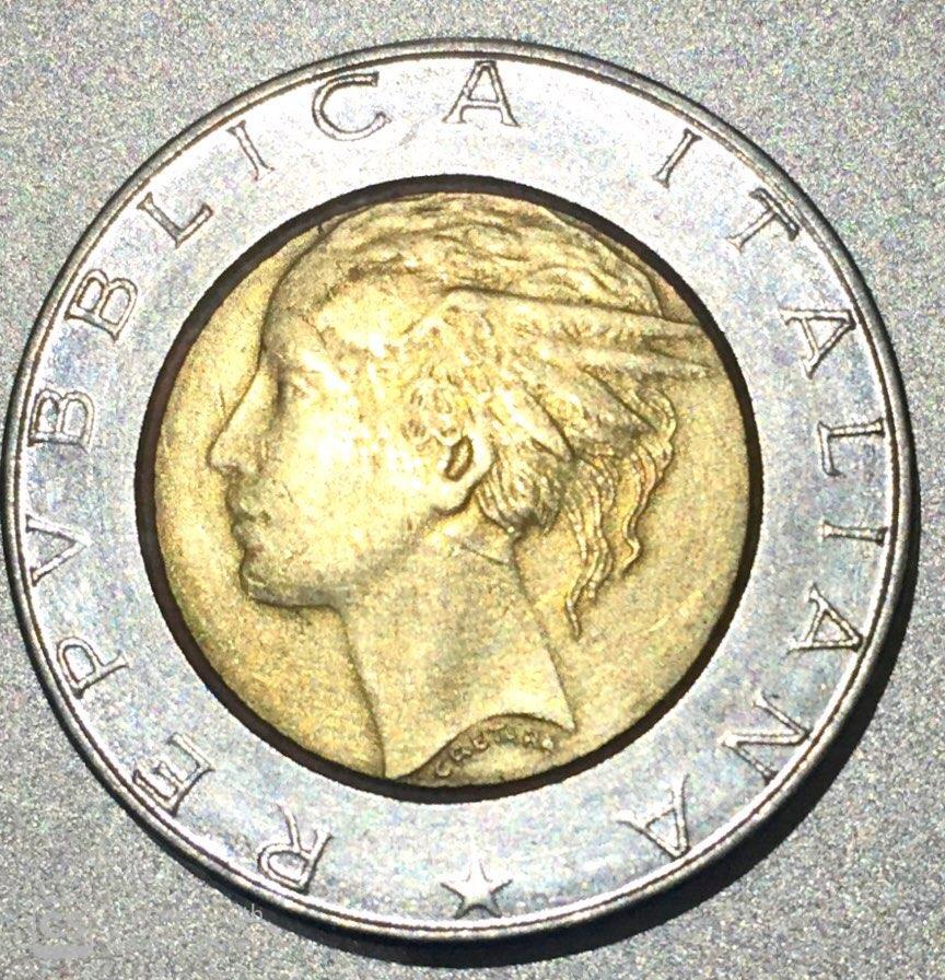 """ITALY – 500 Lire """"Piazza del Quirinale Rome"""" 1982.. UNC (0729)"""