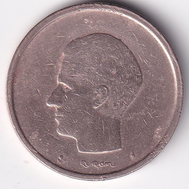 "BELGIUM – 20 Francs ""King Baudouin I"" 1980 UNC (0703)"
