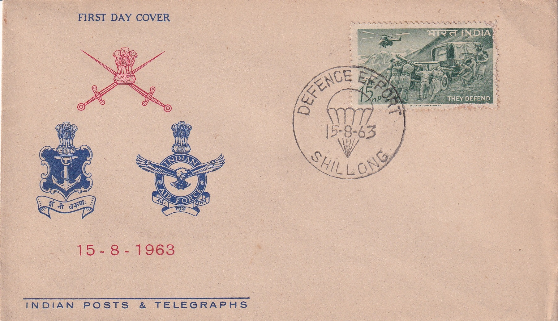 "Indian Posts – FDC ""Indian Industries Fair 1961"" UNC Rare (FDC10)"