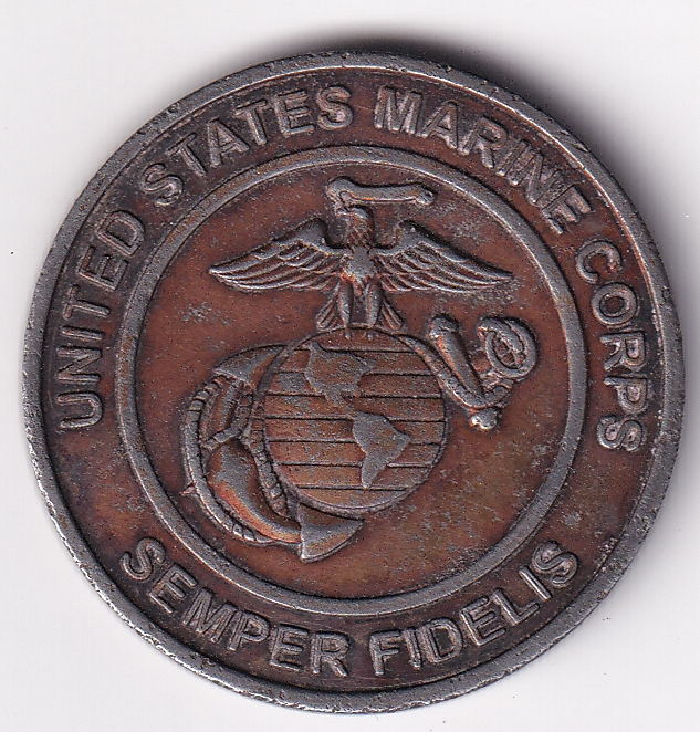 U.S.A. Token USMS Semper Fidelis/Toys for Tots AD-2011 VF (2442)