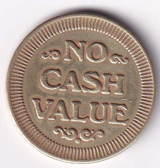 USA TOKEN – No Cash Value Eagle UNC Rare (0742)