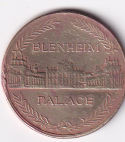 U.K. Token – Winston Churchill's birth Blenheim Palace V.F. Rare (0901)
