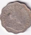KING EDWARD VII – Antique One Anna 1908 VF (2313)