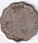 KING EDWARD VII – Antique One Anna 1910 Fine (0253)