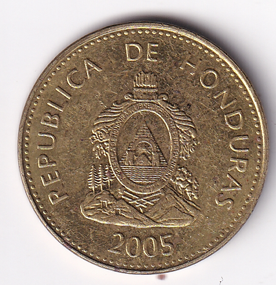 "HONDURAS – 10 Centavos ""Coat of Arms"" 2003 BUNC (1731)"