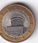 """EUROPE – Specimen 1 Euro """"Essai-Pattern-Probe"""" 2012 UNC (1327)"""