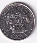 """CANADA – Commemo. 25 Cents """"Celebration"""" 2000 UNC Mint (0116)"""
