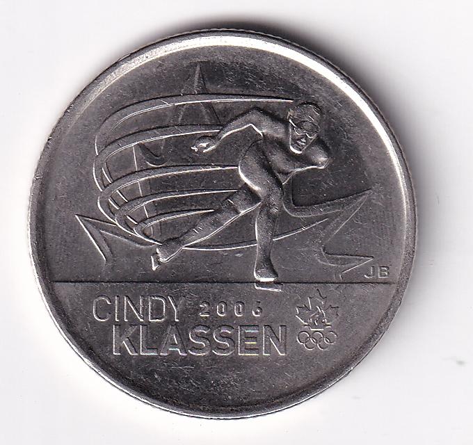 "CANADA – Commemo. 25 Cents ""Skating"" 2009 UNC Mint (2071)"