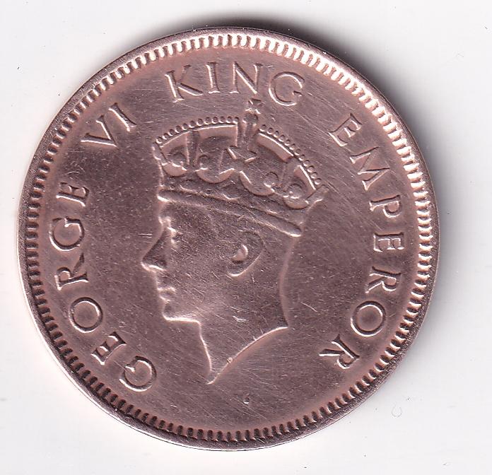 KING GEORGE VI- One Qr. Anna 1940 Bom UNC (1903)