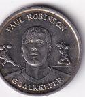 U.K.  Commemo. Token Paul Robinson Goal Keeper 2004 UNC Rare (0222)
