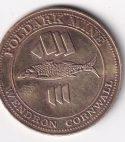 U.K. – Token – Cornfish Half Penny Poldark Mine UNC (2575)