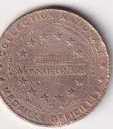 FRANCE: Monnaie de Paris Tourist Token – ParisNotre-Dame UNC (1956)