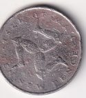 "ISLE OF MAN – 10 New Pence ""Triskelion"" 1975 VF Rare (2837)"