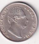 EAST INDIA CO. – Antique One Rupee 1835 Silver (91.6%) Cal UNC Rare (1733)